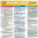 Excel 2010 Keyboard Shortcuts