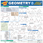 Geometry Formulas and Equations Basic 1