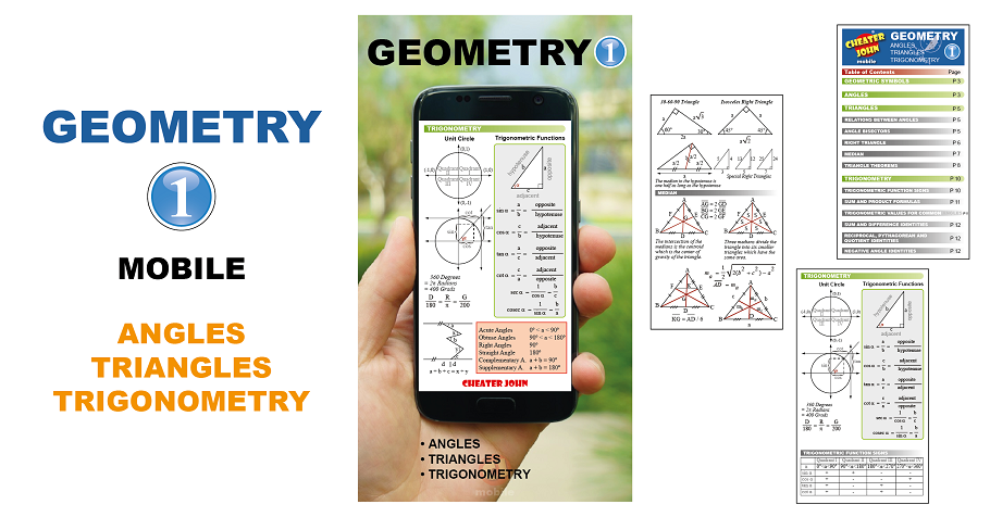 Geometry Formulas and Equations 1 Mobile